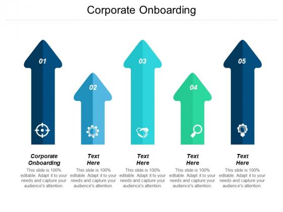 Corporate Onboarding Ppt PowerPoint Presentation Summary Ideas