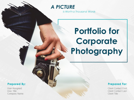 Corporate Photography Proposal Template Ppt PowerPoint Presentation Complete Deck With Slides