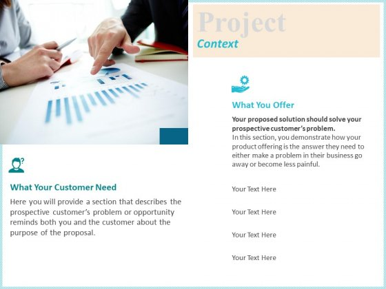 Corporate Project Context Ppt Portfolio Display PDF
