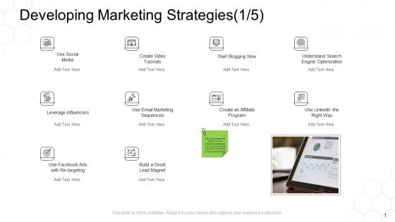 Corporate Regulation Developing Marketing Strategies Affiliate Ppt Summary Infographics PDF