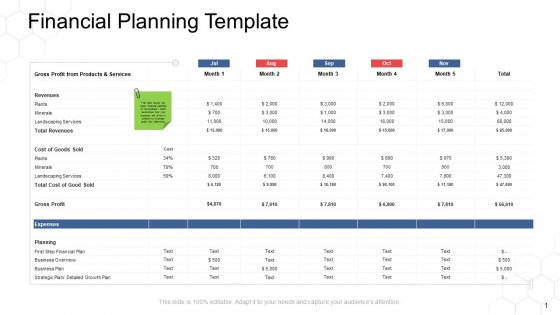 Corporate Regulation Financial Planning Template Ppt Pictures Rules V