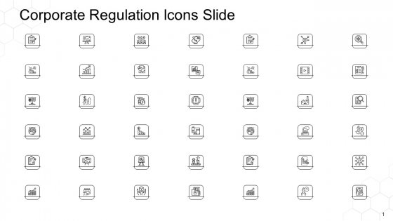 Corporate Regulation Icons Slide Ppt Outline Influencers PDF