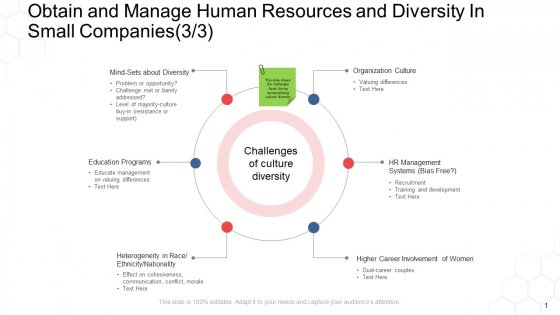 Corporate Regulation Obtain And Manage Human Resources And Diversity In Small Companies Systems Ppt Styles Layouts PDF