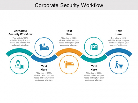 Corporate Security Workflow Ppt PowerPoint Presentation Model Images Cpb