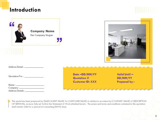 Corporate_Service_Quote_Proposal_Ppt_PowerPoint_Presentation_Complete_Deck_With_Slides_Slide_3
