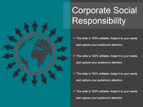 Corporate Social Responsibility Ppt PowerPoint Presentation Infographics Show