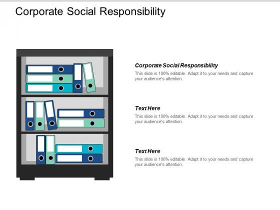 Corporate Social Responsibility Ppt PowerPoint Presentation Portfolio Design Inspiration Cpb