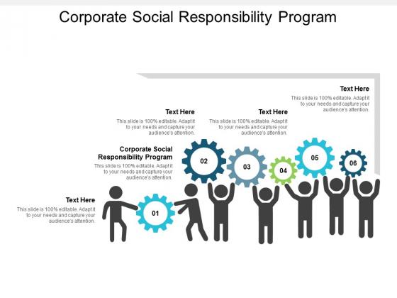 Corporate Social Responsibility Program Ppt Powerpoint Presentation Portfolio Summary Cpb