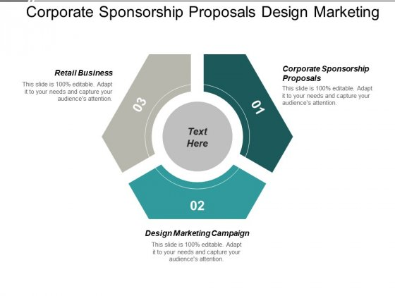 Corporate Sponsorship Proposals Design Marketing Campaign Retail Business Ppt PowerPoint Presentation Model Show Cpb