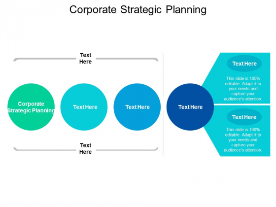 Corporate Strategic Planning Ppt PowerPoint Presentation Show Cpb