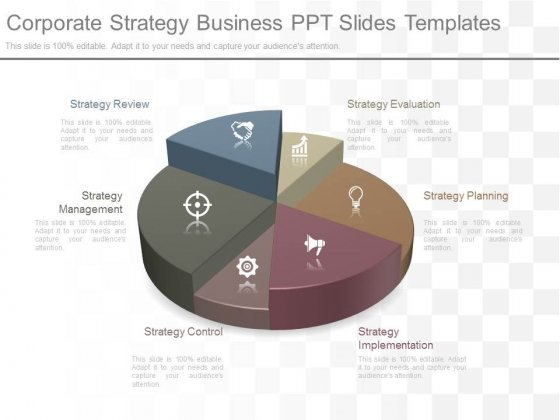 Corporate Strategy Business Ppt Slides Templates