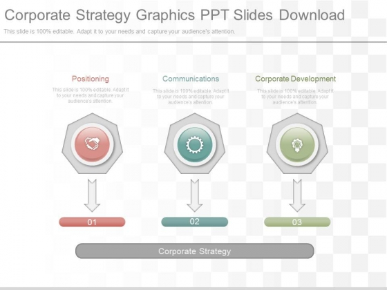 Corporate Strategy Graphics Ppt Slides Download