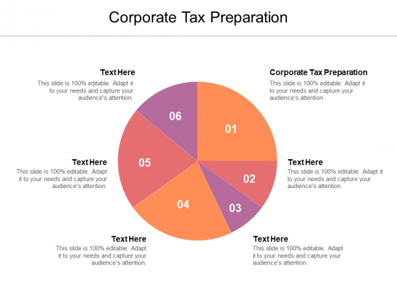 Corporate Tax Preparation Ppt PowerPoint Presentation Outline Inspiration Cpb Pdf