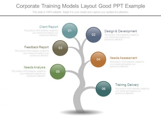 Corporate Training Models Layout Good Ppt Example