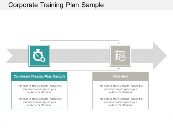 Corporate Training Plan Sample Ppt PowerPoint Presentation Professional Tips Cpb