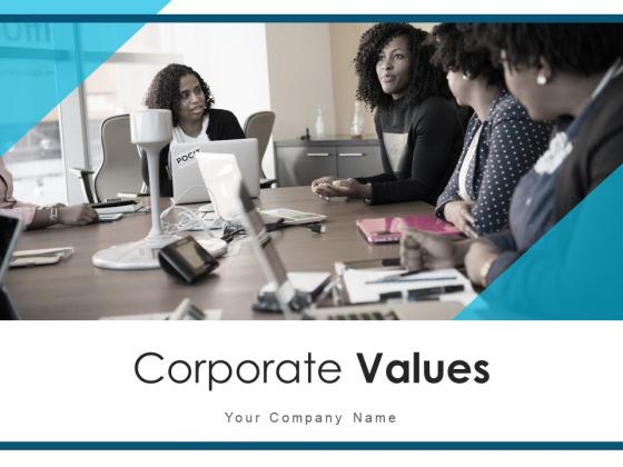 Corporate Values Market Behaviours Ppt PowerPoint Presentation Complete Deck