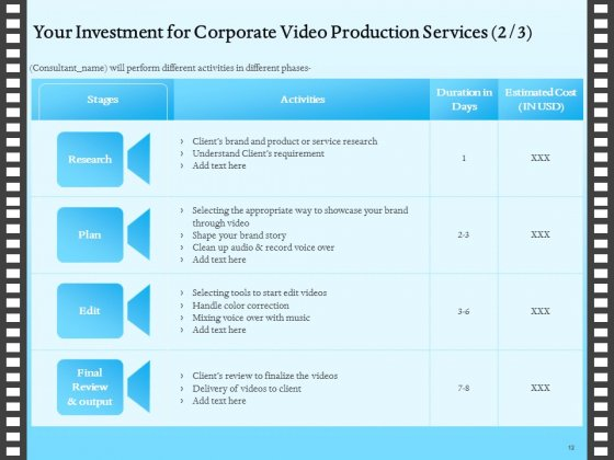 Corporate_Video_Proposal_Template_Ppt_PowerPoint_Presentation_Complete_Deck_With_Slides_Slide_12
