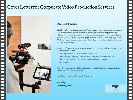 Corporate_Video_Proposal_Template_Ppt_PowerPoint_Presentation_Complete_Deck_With_Slides_Slide_2