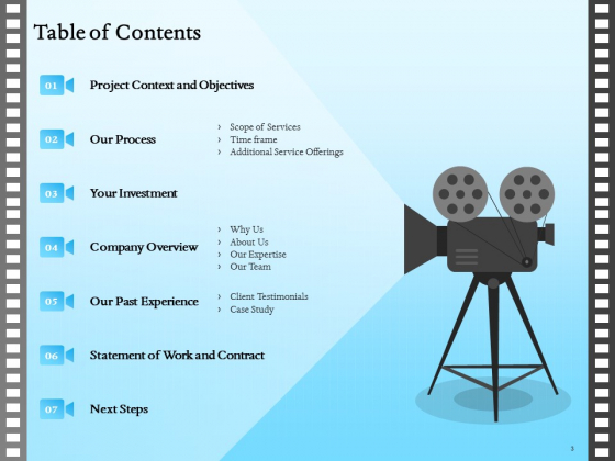 Corporate_Video_Proposal_Template_Ppt_PowerPoint_Presentation_Complete_Deck_With_Slides_Slide_3