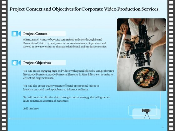 Corporate_Video_Proposal_Template_Ppt_PowerPoint_Presentation_Complete_Deck_With_Slides_Slide_5