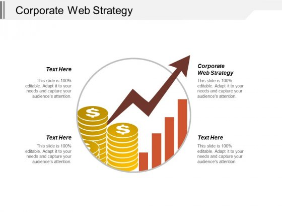 Corporate Web Strategy Ppt Powerpoint Presentation Infographics Layout Ideas Cpb