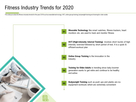 Corporate Wellness Consultant Fitness Industry Trends For 2020 Structure PDF