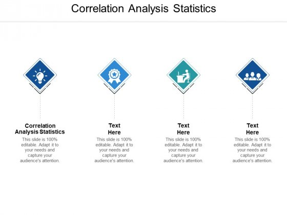 Correlation Analysis Statistics Ppt PowerPoint Presentation Outline Ideas Cpb