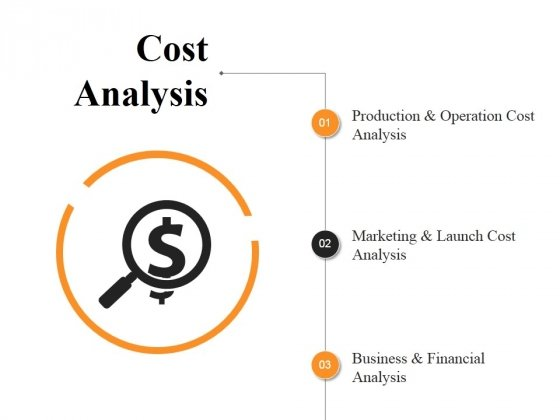 Cost Analysis Ppt PowerPoint Presentation Summary Icons