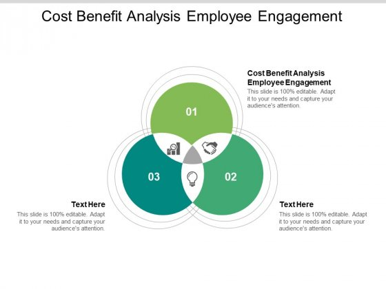 Cost Benefit Analysis Employee Engagement Ppt PowerPoint Presentation Inspiration Influencers Cpb Pdf