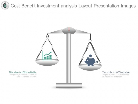 Cost Benefit Investment Analysis Layout Presentation Images
