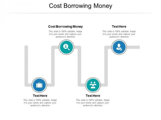 Cost Borrowing Money Ppt PowerPoint Presentation Infographic Template Backgrounds Cpb Pdf