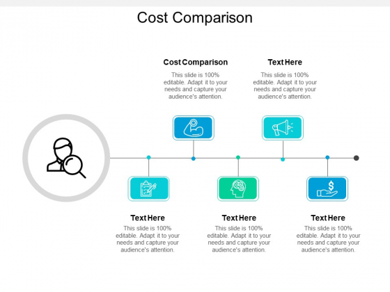 Cost Comparison Ppt PowerPoint Presentation Icon Styles Cpb