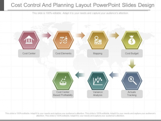 Cost Control And Planning Layout Powerpoint Slides Design