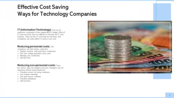 Cost_Cutting_Organization_Manufacturers_Ppt_PowerPoint_Presentation_Complete_Deck_With_Slides_Slide_7