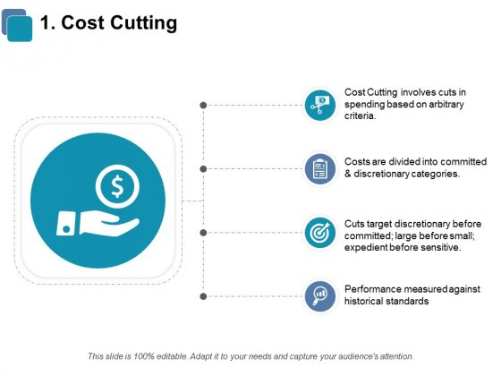 Cost Cutting Ppt PowerPoint Presentation Slide