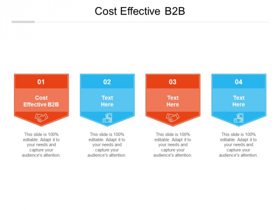 Cost Effective B2B Ppt PowerPoint Presentation Outline Graphics Cpb