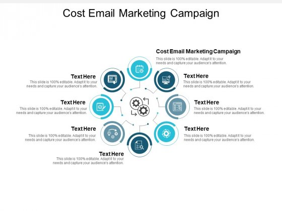 Cost Email Marketing Campaign Ppt PowerPoint Presentation Summary Deck Cpb