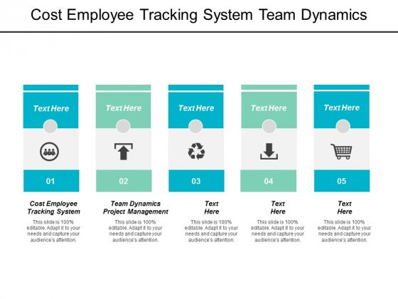 Cost Employee Tracking System Team Dynamics Project Management Ppt PowerPoint Presentation File Infographic Template