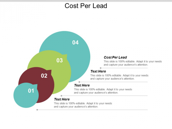 Cost Per Lead Ppt PowerPoint Presentation Infographics Clipart Images Cpb