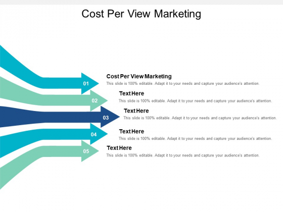 Cost Per View Marketing Ppt PowerPoint Presentation File Outline Cpb