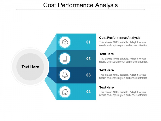 Cost Performance Analysis Ppt PowerPoint Presentation Pictures Master Slide Cpb