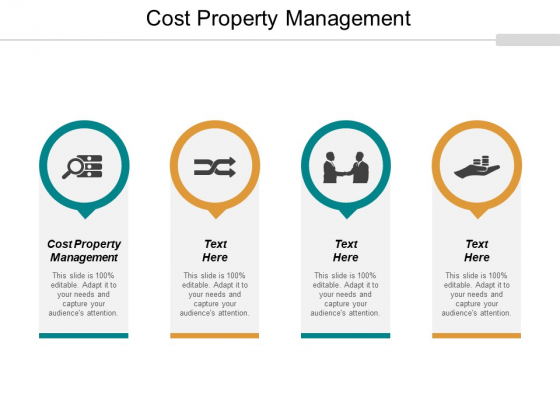 Cost Property Management Ppt PowerPoint Presentation Inspiration Vector Cpb