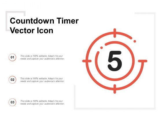 Countdown Timer Vector Icon Ppt Powerpoint Presentation Icon Graphics Example