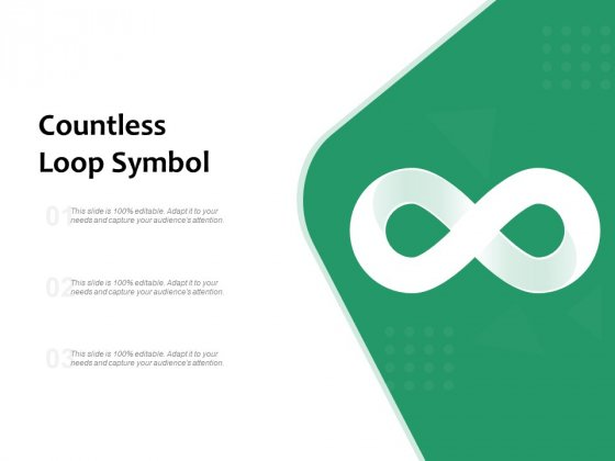 Countless Loop Symbol Ppt PowerPoint Presentation Gallery Clipart PDF