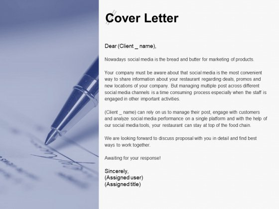 Cover Letter Agenda Ppt PowerPoint Presentation Layouts Infographics