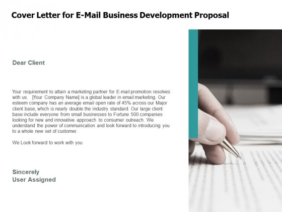 Cover Letter For E Mail Business Development Proposal Agenda Ppt PowerPoint Presentation Portfolio Mockup