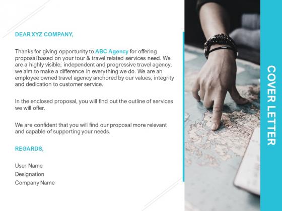 Cover Letter Marketing Ppt PowerPoint Presentation Model