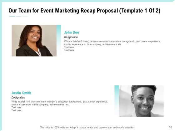 Craft_The_Perfect_Event_Proposal_Ppt_PowerPoint_Presentation_Complete_Deck_With_Slides_Slide_18