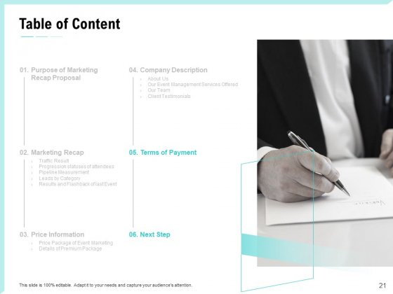Craft_The_Perfect_Event_Proposal_Ppt_PowerPoint_Presentation_Complete_Deck_With_Slides_Slide_21