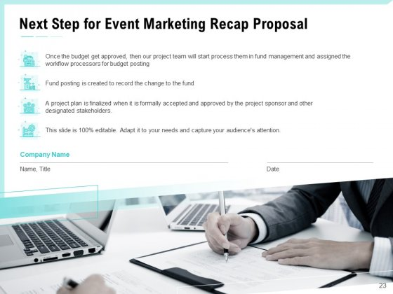 Craft_The_Perfect_Event_Proposal_Ppt_PowerPoint_Presentation_Complete_Deck_With_Slides_Slide_23